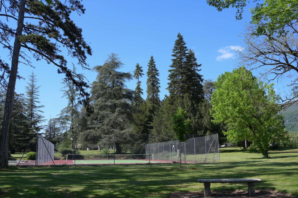 Parc et tennis